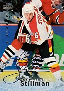 Autograph 119488 Calgary Flames 1996 Upper Deck Be A Player No. S132 Cory Stillman Autographed Hockey Card