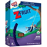Clif Kid Twisted Fruit Ropes, Grape, 18 Count