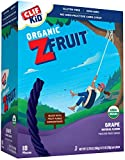 grape fruit leather - CLIF KID ZFRUIT - Organic Fruit Snack - Grape - (0.7 Ounce Rope, 18 Count)