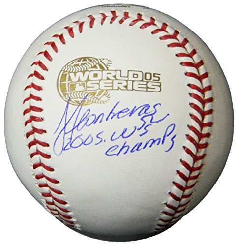 - Jose Contreras Signed Rawlings Official 2005 World Series Baseball w/05 WS Champs