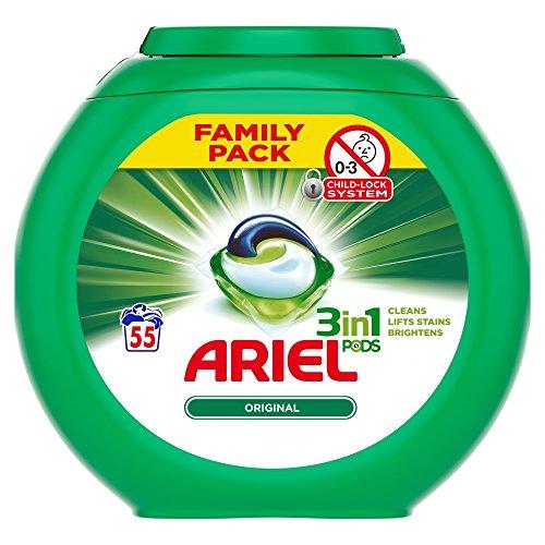 - 'Ariel Original 3-In-1 Pods Family Pack, 1558 g'