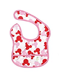 Bumkins Disney Baby Waterproof Starter Bib, Minnie Mouse Icon (4-9 Months)