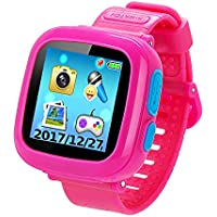 Smartwatch Watches Digital Childrens Learning At A Glance