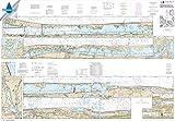 NOAA Chart 11472: Intracoastal Waterway Palm Shores to West Palm Beach; Loxahatchee River, 41.5 X 59.8, WATERPROOF
