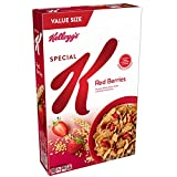 Start your day off right with the simple goodness of Special K Cereal Red Berries—a deliciously crafted, wholesome cereal that loves you back with each healthy spoonful. This filling cereal is bursting with real strawberries and made with lightly swe...