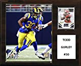 """NFL St. Louis Rams Todd Gurley Player Plaque, 12""""x15"""""""