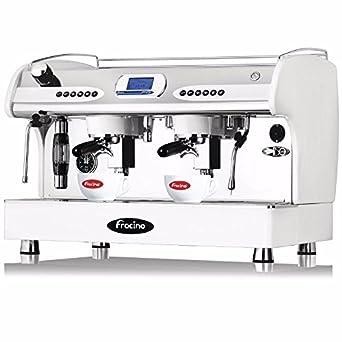 Fracino pid2 Espresso máquina de café, Grupo 2, color blanco: Amazon.es: Industria, empresas y ciencia