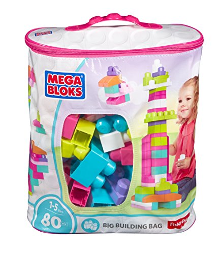 Mega Bloks 80-Piece Big Building Bag, (Ss Big Block)