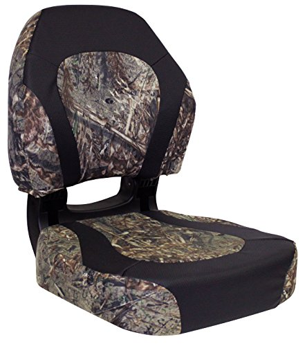 Wise Trailhawk Camo Fold Down Boat Seat, Duck Blind/Nexus Flat (Duck Boat Blinds)
