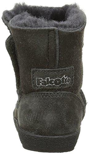 Naturino Falcotto 240 - Zapatos de primeros pasos Bebé-Niñas Gris - Gris (Gris Foncé)