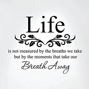 Amazon Life Is Not Measured By The Breaths We Take But By The Interesting Life Is Not Measured Quote