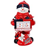 MLB Boston Red Sox 2012 Snowman Countdown Calendar, 10-Inch