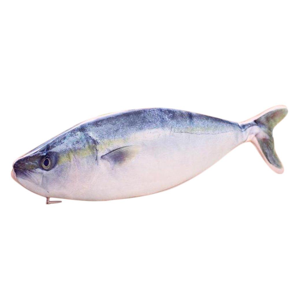 Leisial Creativo Sacchetto della Matita Cerniera Forma di Pesce Astuccio per Matite di Cartoleria Matita per Penna Ragazzo e Ragazza Regalo di Compleanno 1737281058399