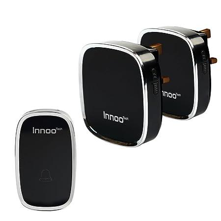Innoo Tech WD 22 Wireless Doorbells, 900 Feet Waterproof Door Chime With 2  Receivers