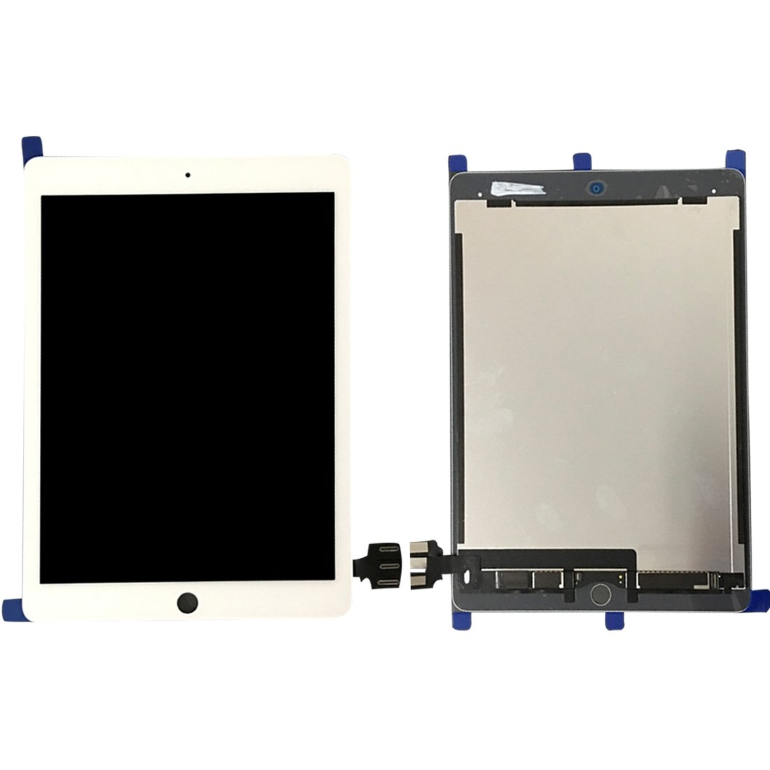 iPartsBuy for iPad Pro 9.7 inch / A1673 / A1674 / A1675 LCD Screen + Touch Screen Digitizer Assembly (White)