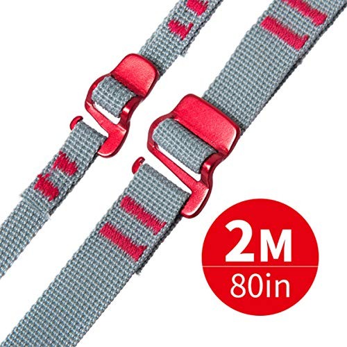 Cheap Litepro Outravel 10mm 20mm Quick Release Straps with Aluminium Hook, Multi-Functional Accessory for Outdoor Travel