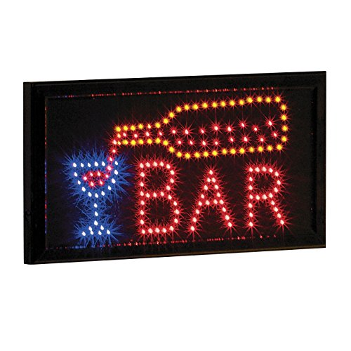 LED Neon Lighted Bar Business Sign, or Home Bar Sign by Banberry Designs