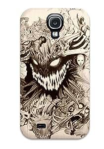 Cute Tpu DeniseMA Artistic Dark Abstract Dark Case Cover For Galaxy S4