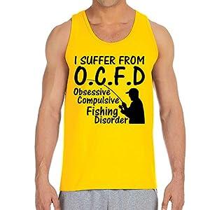 Men's O.C.F.D Gold Tank Top (XX Large)