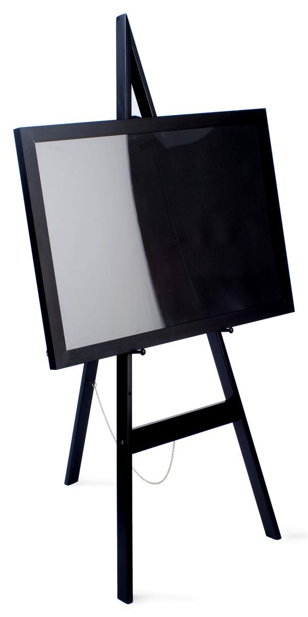 amazon com displays2go wooden display easel with height adjustable