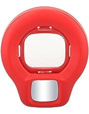 TOOGOO(R) Lente de Close Up con Espejo autorretrato para Fujifilm Instax Mini8s Mini8 (Rojo)