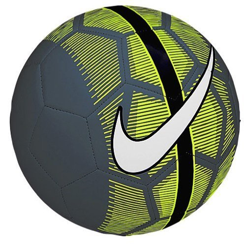 Nike Mercurial Fade Size 5 Soccer Ball (Black/Green/White)