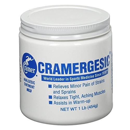 Cramergesic Mild Warmth Analgesic for Relief from Muscle Soreness, Aches, Joint & Arthritis Pain, Penetrating Pain Relief Cream Soothes Tight Muscles Before & After Workout, Exercise, or Fitness ()