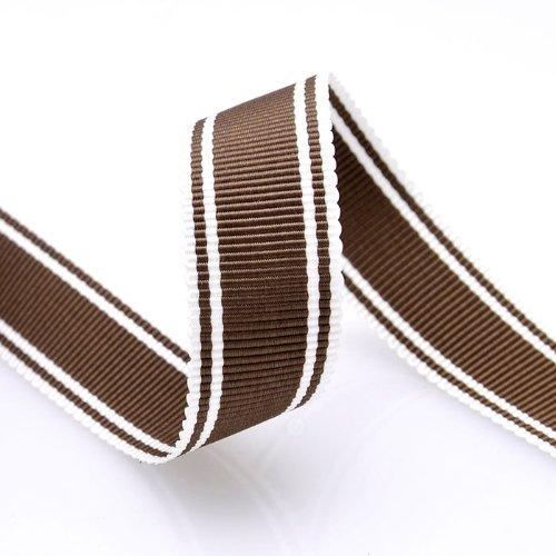 Grosgrain Stripe Ribbon 5/8