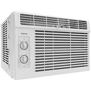 hOmeLabs Window Air Conditioner - 5000 BTU AC Unit with 7 Speed Fan