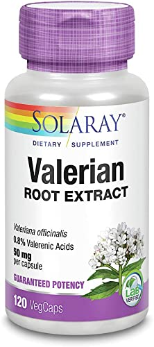Valerian Root Extract Solaray 120 Caps