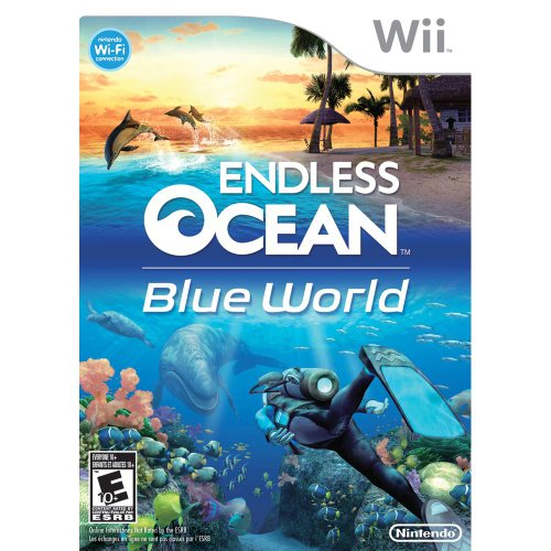 Endless Ocean Blue World Nintendo Wii