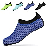 Sixspace Unisex Water Shoes Barefoot Beach Shoes Aqua Socks for Swim Pool Surf Yoga£¬Dark Blue 41/42