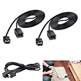 SNES Classic Controller Extension Cable, 10ft/3M NES Classic Extension Power Cord for Nintendo SNES Classic Mini Edition (2017) and NES Classic Mini Edition (2016) - 2 Packs