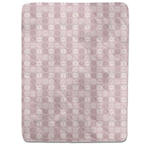 Afro Rose Fitted Sheet: King Luxury Microfiber, Soft, Breathable by uneekee