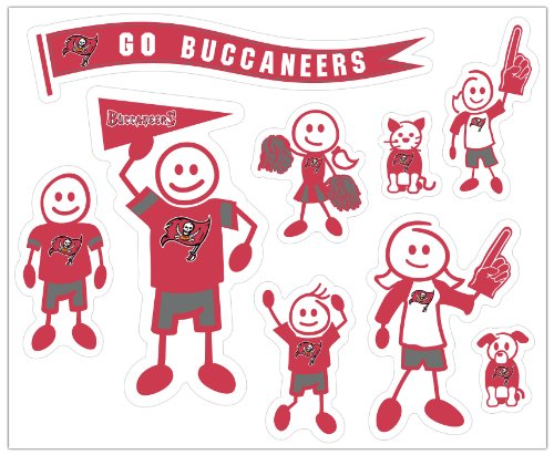 Buccaneers Family Decal - 2