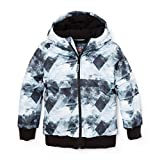 The Children's Place Big Boys' Puffer Jacket, Black 88140, M (7/8)