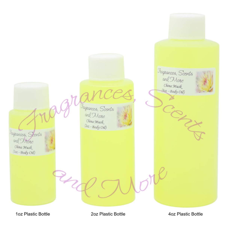 China Musk Perfume/Body Oil (7 Sizes) - Free Shipping (4oz Plastic Bottle (120ml))