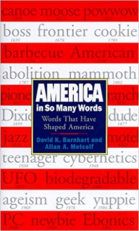 America in So Many Words [Idioma Inglés]: Amazon.es: Barnhart ...