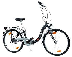 "NEUZER 10714 - Bicicleta plegable ( 7 velocidades, 24 "" )"