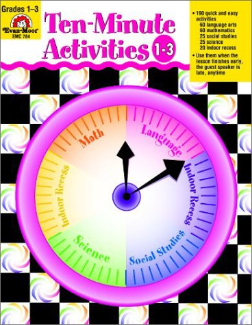 Ten-Minute Activities, Grades 1-3 pdf epub