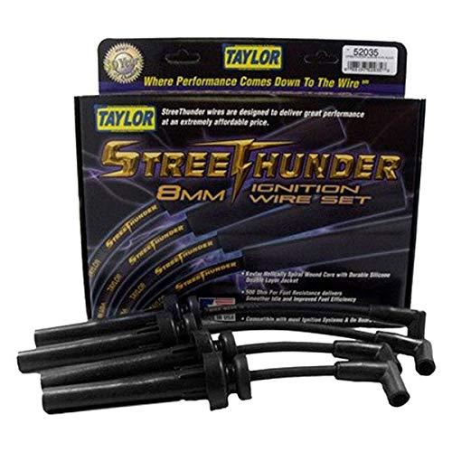 Taylor Cable 52035 Streethunder Custom 4 Cyl Black