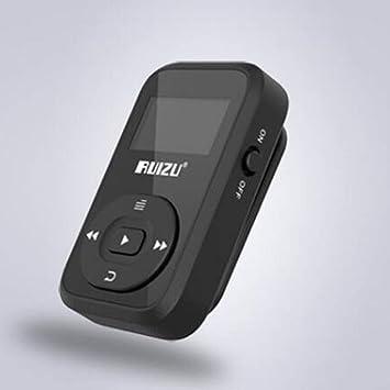 Amazon.com: RONSHIN Reproductor de MP3, x26 Moda Mini ...