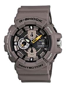 Casio Men's GAC100-8A G-Shock Brown Resin Analog Chronograph Watch