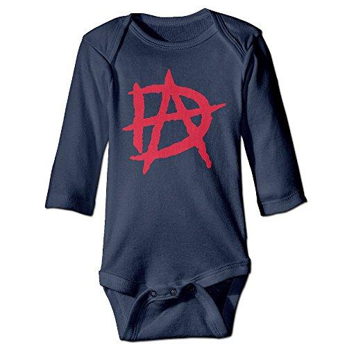 PTCY Dean Wrestler Ambrose DA For 6-24 Months Baby Romper Outfits 24 Months Navy