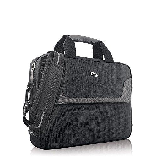 030918006627 - Solo Flatiron 16 Inch Laptop Slim Brief, Black carousel main 3