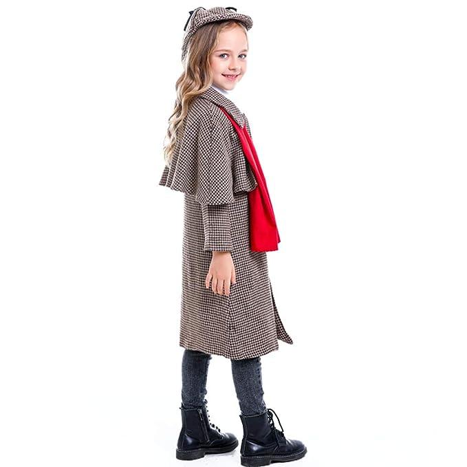Lhlxs Gran Detective Sherlock Holmes Traje de Cosplay niñas ...