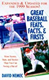 Great Baseball Feats, Facts and Firsts 2011, David Nemec, 0451198441