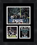 #10: 2018 Super Bowl Super Bowl LII (52) Champions Philadelphia Eagles Framed 11 x 14 Matted Collage Framed Photos Ready to hang