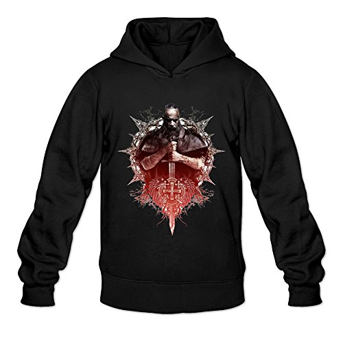 Men's The Last Witch Hunter Movie Poster Hoodie Size L Black