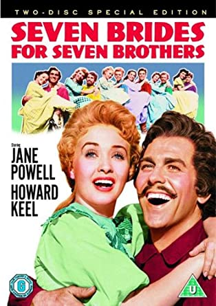 7 brides for 7 brothers Jane Powel musical movie poster print